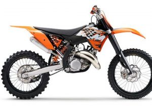 Pot echappement KTM SX 125 (2008)