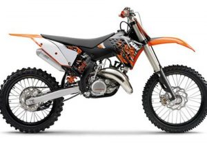 Pot echappement KTM SX 125 (2009)
