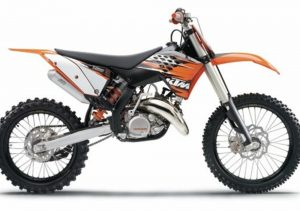 Pot echappement KTM SX 125 (2010)