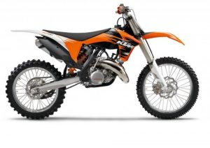 Pot echappement KTM SX 125 (2011)