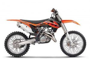 Pot echappement KTM SX 125 (2014)