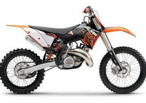 Pot echappement KTM SX 150 (2009)