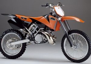 Pot echappement KTM SX 250 (2002)