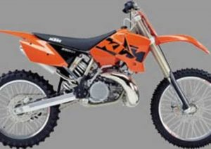 Pot echappement KTM SX 250 (2003 - 04)