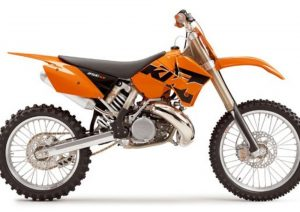Pot echappement KTM SX 250 (2005)