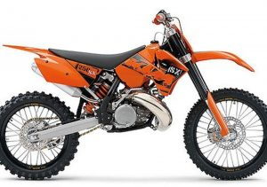 Pot echappement KTM SX 250 (2006)