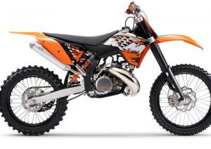 Pot echappement KTM SX 250 (2008)