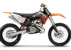 Pot echappement KTM SX 250 (2009)