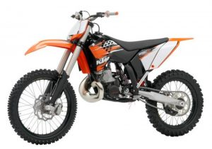Pot echappement KTM SX 250 (2010)