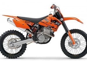 Pot echappement KTM SX 250 F (2006)