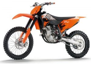 Pot echappement KTM SX 250 F (2007)