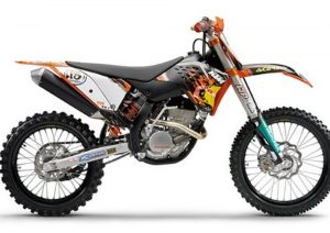 Pot echappement KTM SX 250 F (2009)