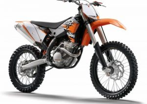 Pot echappement KTM SX 250 F (2010)