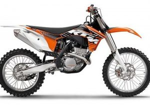 Pot echappement KTM SX 250 F (2012)