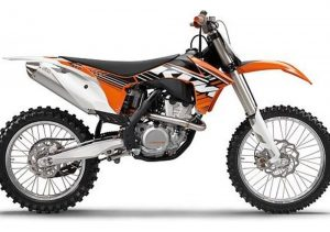 Pot echappement KTM SX 350 F (2012)
