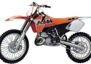 Pot echappement KTM SX 380 (1998 - 01)