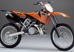 Pot echappement KTM SX 380 (2002)