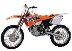 Pot echappement KTM SX 400