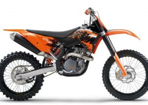 Pot echappement KTM SX 450 F (2007)