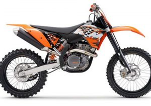 Pot echappement KTM SX 450 F (2008)