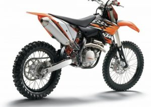 Pot echappement KTM SX 450 F (2010)
