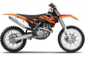 Pot echappement KTM SX 450 F (2013)