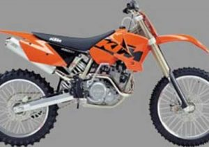 Pot echappement KTM SX 450 Racing (2002 - 04)