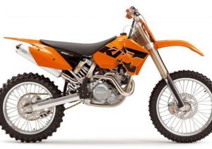 Pot echappement KTM SX 450 Racing (2005)
