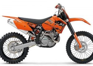 Pot echappement KTM SX 450 Racing (2006)