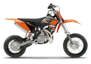 Pot echappement KTM SX 50 (2010)