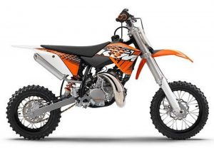 Pot echappement KTM SX 50 (2012) LC