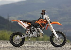 Pot echappement KTM SX 50 LC (2013)