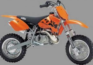Pot echappement KTM SX 50 Pro Junior LC (2002 - 04)