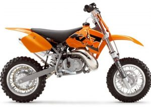 Pot echappement KTM SX 50 Pro Junior LC (2005)