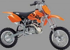 Pot echappement KTM SX 50 Pro Senior LC (2002 - 04)