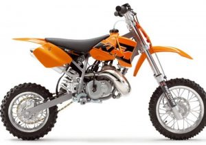 Pot echappement KTM SX 50 Pro Senior LC (2005)