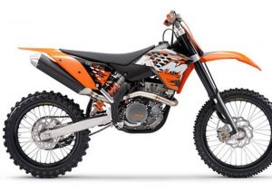 Pot echappement KTM SX 505 F (2008)