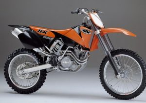 Pot echappement KTM SX 520 Racing (2002)
