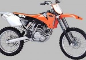 Pot echappement KTM SX 520
