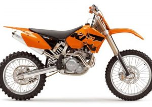 Pot echappement KTM SX 525 Racing (2005)