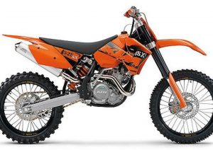 Pot echappement KTM SX 525 Racing (2006)