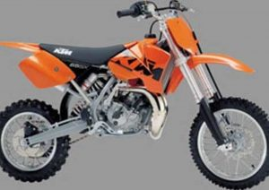 Pot echappement KTM SX 65 (2002 - 04)