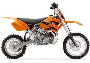 Pot echappement KTM SX 65 (2005)