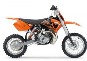 Pot echappement KTM SX 65 (2007)
