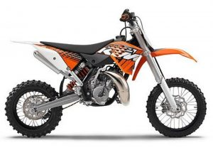 Pot echappement KTM SX 65 (2012)