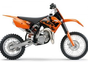 Pot echappement KTM SX 85 (2007)