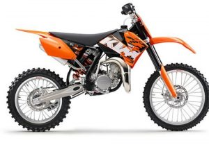 Pot echappement KTM SX 85 (2008)
