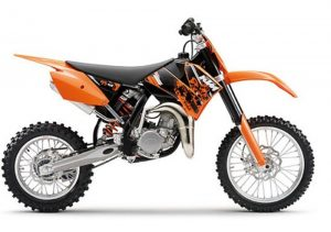 Pot echappement KTM SX 85 (2010)