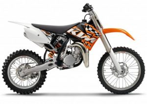Pot echappement KTM SX 85 (2011)