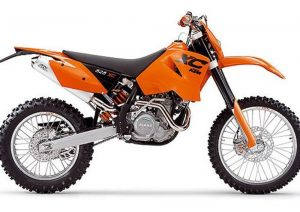 Pot echappement KTM XC 525 Desert Racing